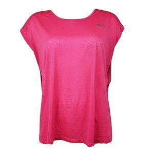 NIKE DRI FIT Solid Pink Top Size XL